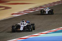 Lance Stroll, Williams FW41 Mercedes, Sergey Sirotkin, Williams FW41 Mercedes