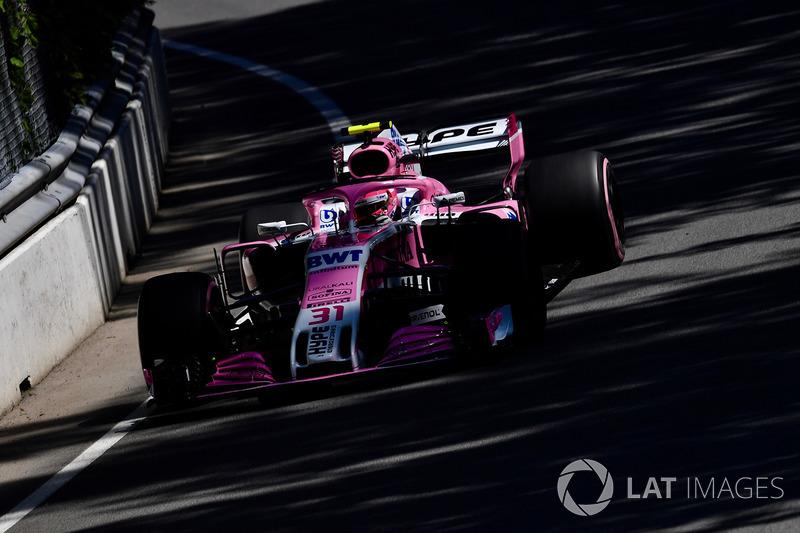8: Эстебан Окон, Force India VJM11 – 1:12.084