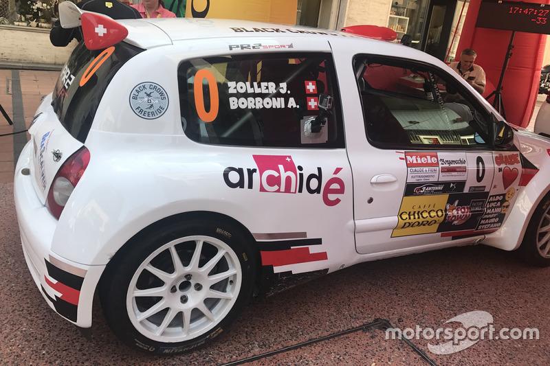 Zoller Johann, Borroni Andrea, Renault Clio S1600  .JPG