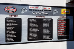 Hickory Motor Speedway Wall of fame