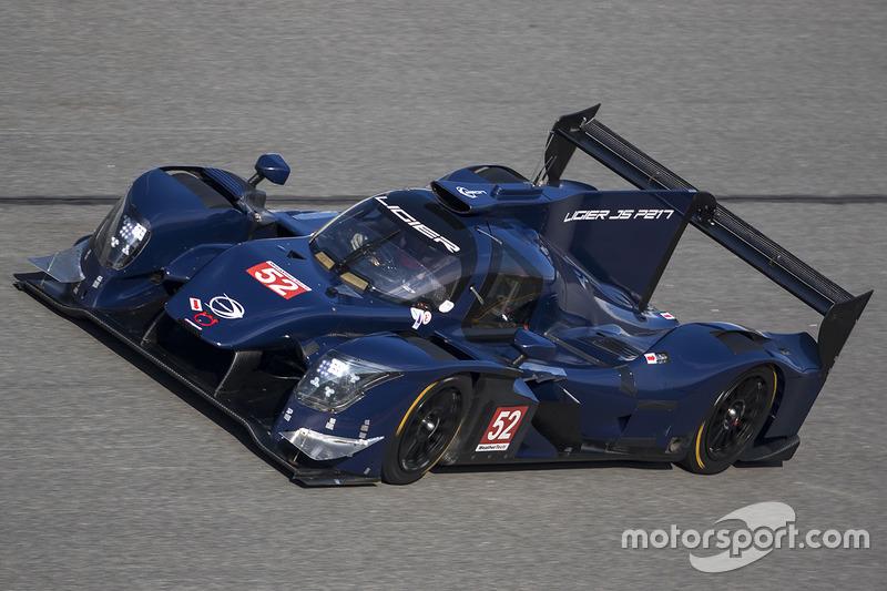 Прототип Ligier JS P217
