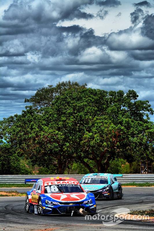 Allam Khodair e Rubens Barrichello