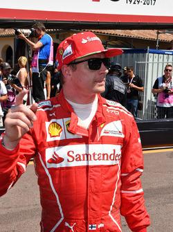 Обладатель поула Кими Райкконен, Ferrari