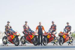 Brad Brad Binder, Red Bull KTM Ajo, Miguel Oliveira, Red Bull KTM Ajo, Bendsneyder, Antonelli