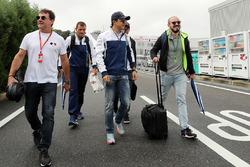 Felipe Massa, Williams, et son frère Dudu Massa