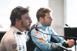 Fernando Alonso, Andretti Autosport Honda, Marco Andretti, Andretti Autosport Honda