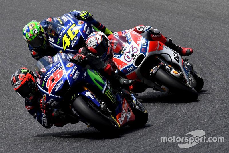 Валентино Россі залишився без подіуму на своєму домашньому Гран Прі