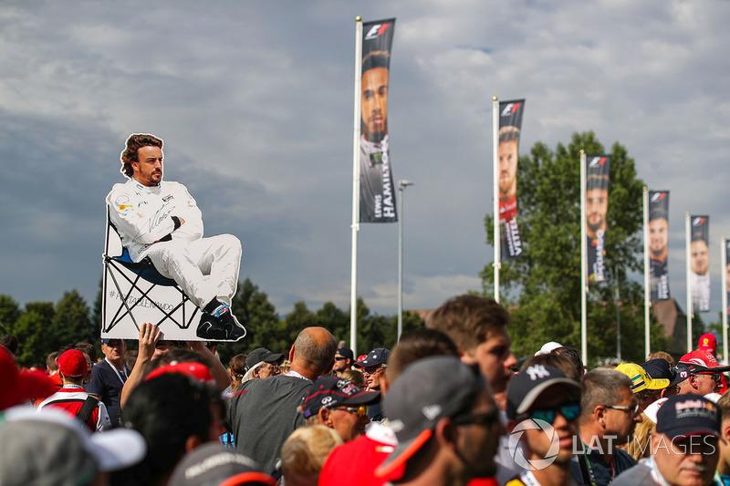 Баннер Фернандо Алонсо, McLaren