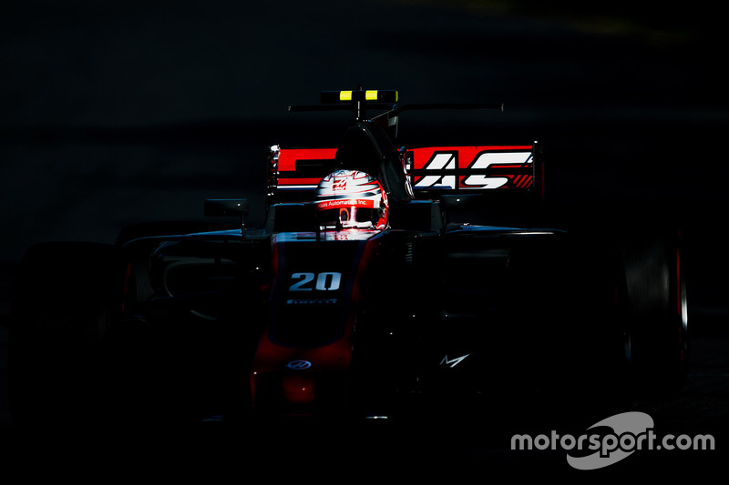 Abandon : Kevin Magnussen (Haas F1)
