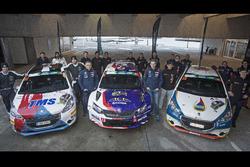 Filip MARES, Jan HOULSEK, Peugeot 208 R2, Dominik BROZ, Petr TESINSKY Peugeot 208 R2