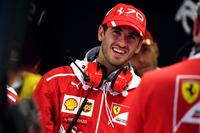 Antonio Giovinazzi, Ferrari piloto de prueba y reserva