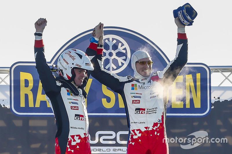 1. Jari-Matti Latvala, Miikka Anttila, Toyota Yaris WRC, Toyota Racing