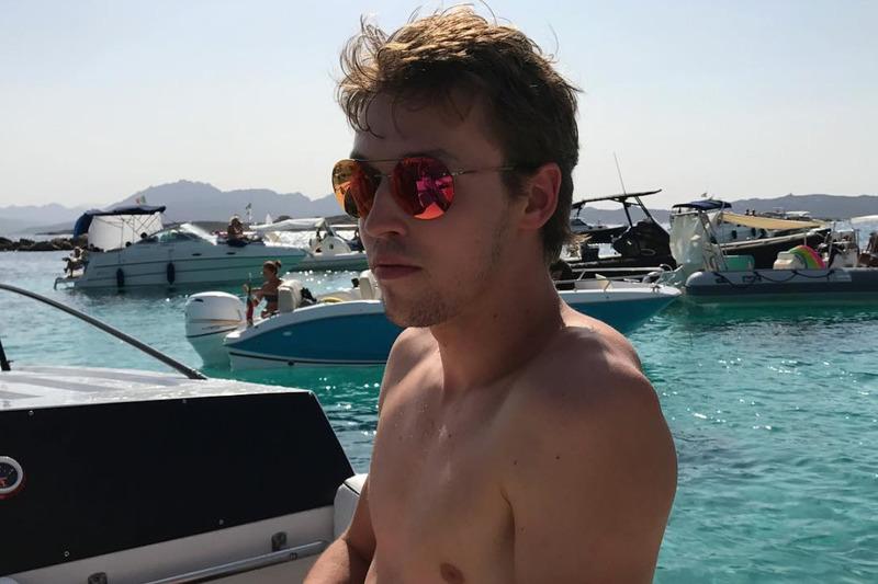 Daniil Kvyat, vacaciones