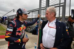 Carlos Sainz Jr., Scuderia Toro Rosso, Dr. Helmut Marko, Red-Bull-Motorsportberater