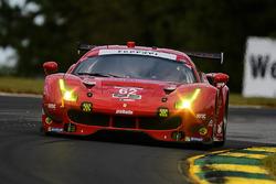 #62 Risi Competizione Ferrari 488 GTE: Тони Виландер, Джанкарло Физикелла, Алессандро Пьергвиди