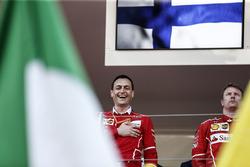 Ріккардо Адамі, гоночний інженер Ferrari та Кімі Райкконен, Ferrari