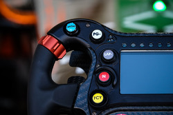 Steering wheel of Jérôme d'Ambrosio, Dragon Racing