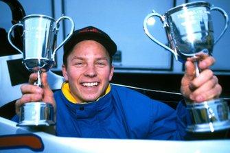Kimi Raikkonen, Manor Motorsport, brandit ses nombreux trophées