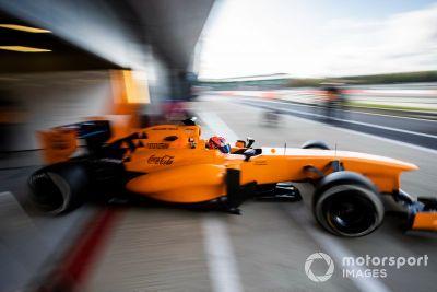 Тесты McLaren Autosport BRDC Award