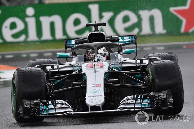 3. Lewis Hamilton, Mercedes AMG F1 W09