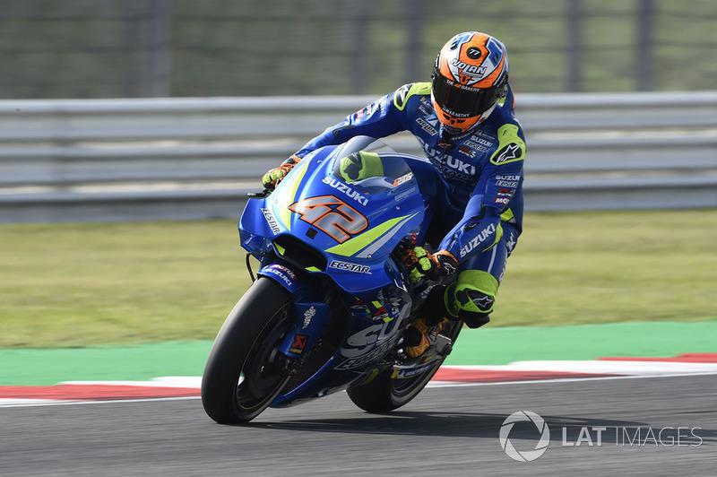 4. Alex Rins, Team Suzuki MotoGP