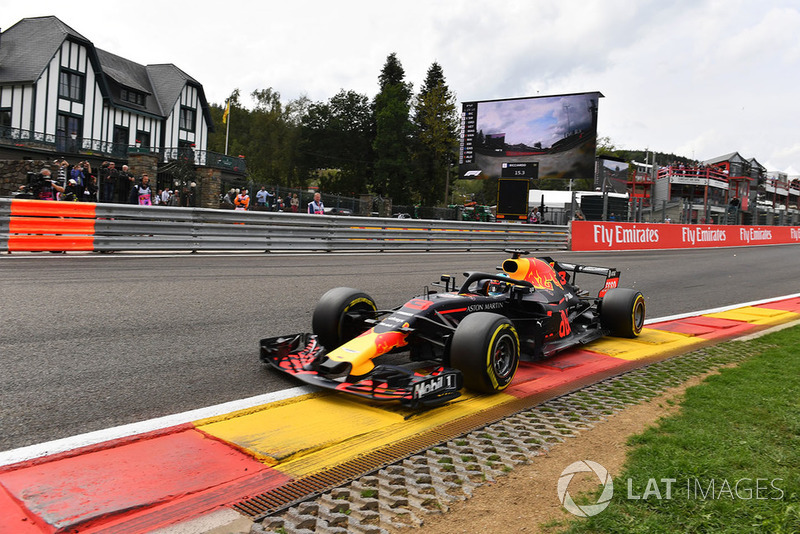 Ausfall: Daniel Ricciardo, Red Bull Racing RB14