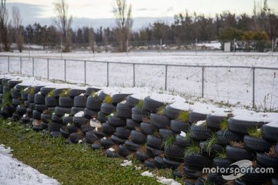 Снег на «Симмонс-Плейнсе»
