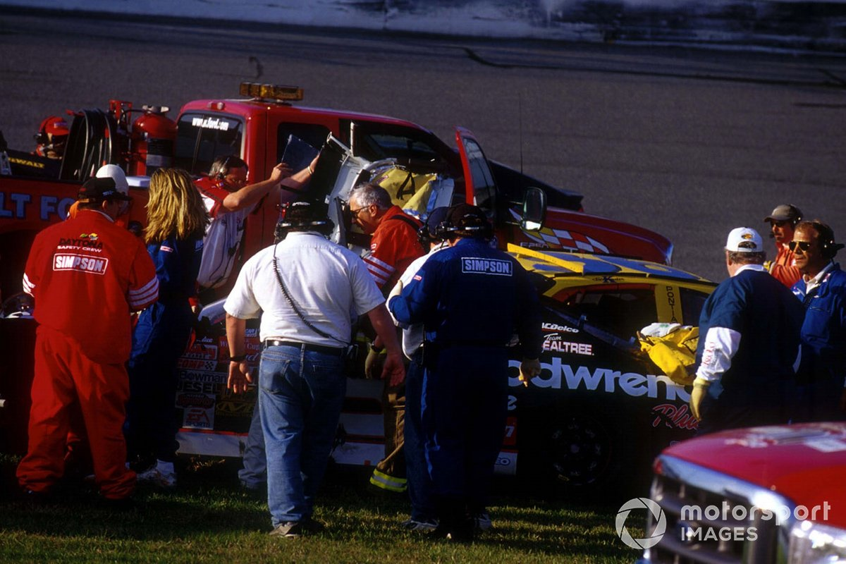 El accidente de Dale Earnhardt.