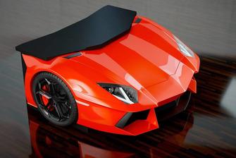 El escritorio Lamborghini Aventedor