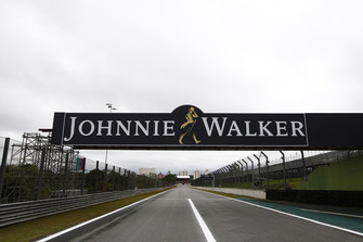 A scenic view of the main straight