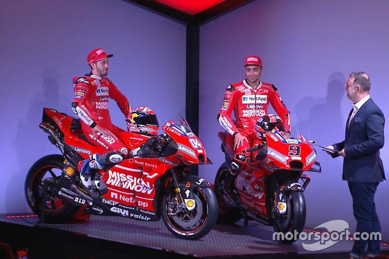 Андреа Довіціозо та Даніло Петруччі, Ducati Team