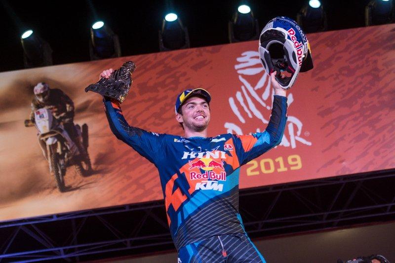 Подіум: #1 Red Bull KTM Factory Racing KTM: Маттіас Валькнер