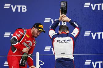 Podio: il vincitore della gara David Beckmann, Trident