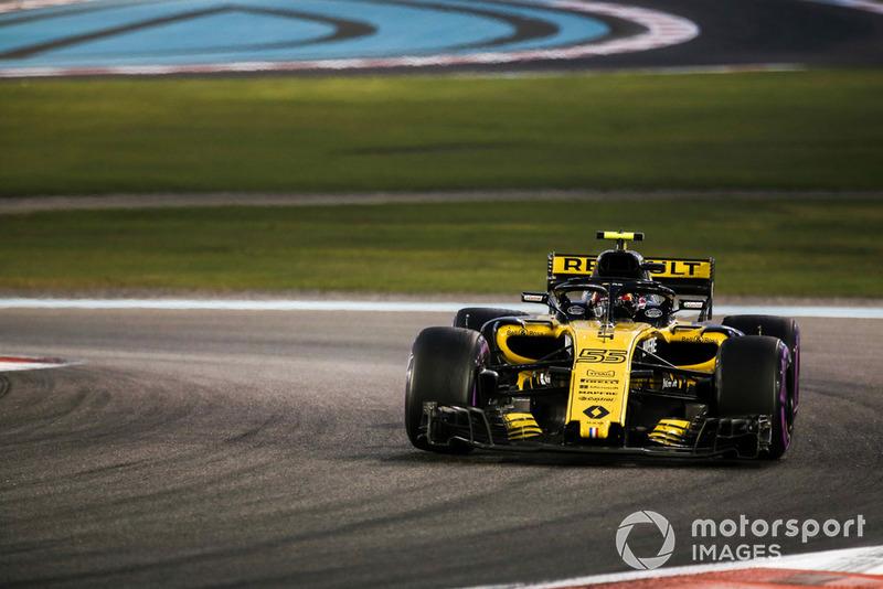 Sainz fue el mejor del resto en su despedida con Renault