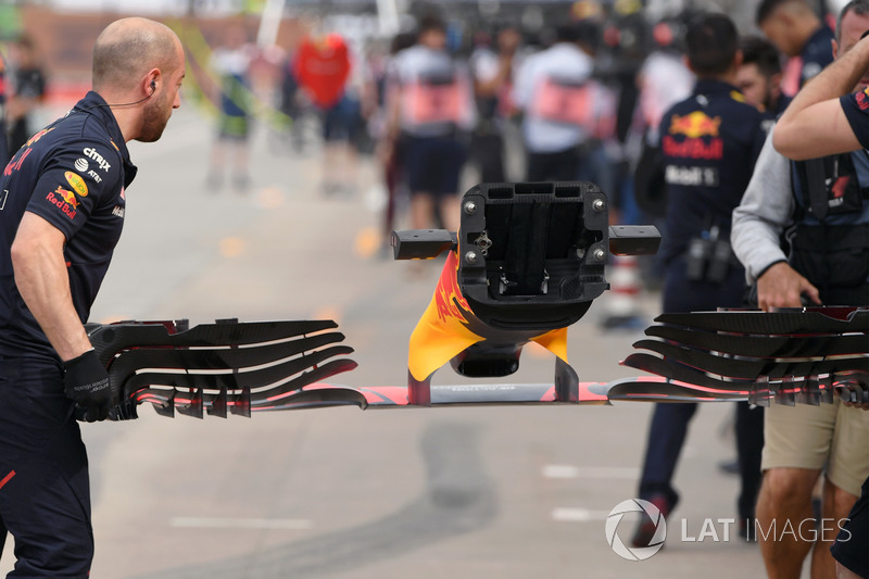 Red Bull Racing RB13: Frontflügel