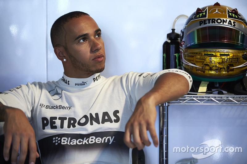 """Hamilton era """"só"""" campeão."""