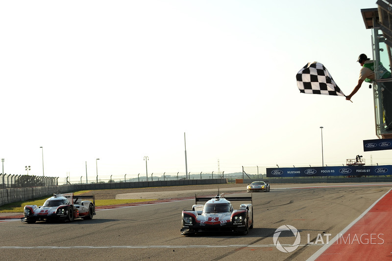 #2 Porsche Team Porsche 919 Hybrid: Тімо Бернхард, Ерл Бембер, Брендон Хартлі здобувають перемогу