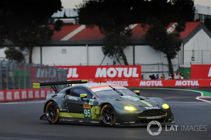 2. GTE-Pro: #95 Aston Martin Racing, Aston Martin Vantage