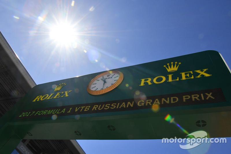 Rolex clock