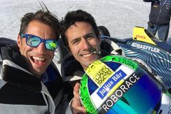 Marco Parroni und Lucas Di Grassi in Grönland