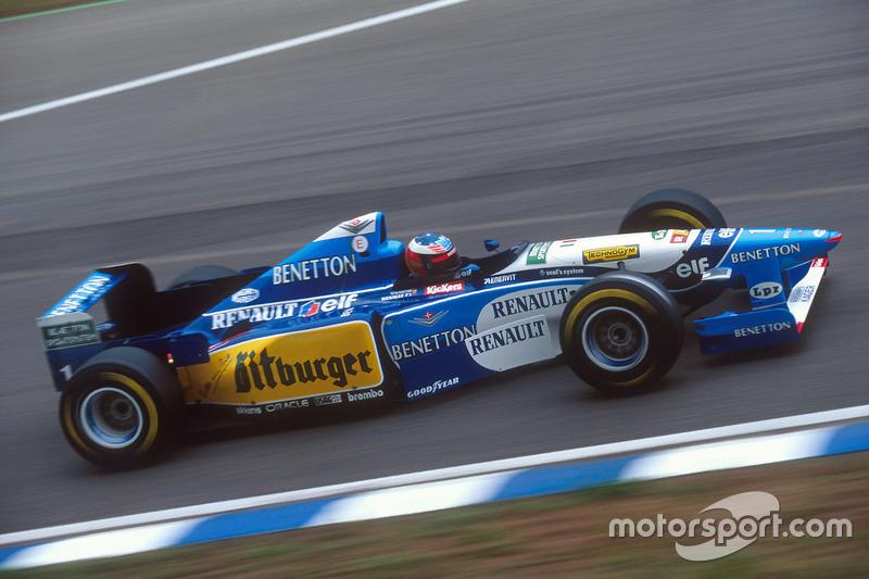 1995: Benetton B195 Renault