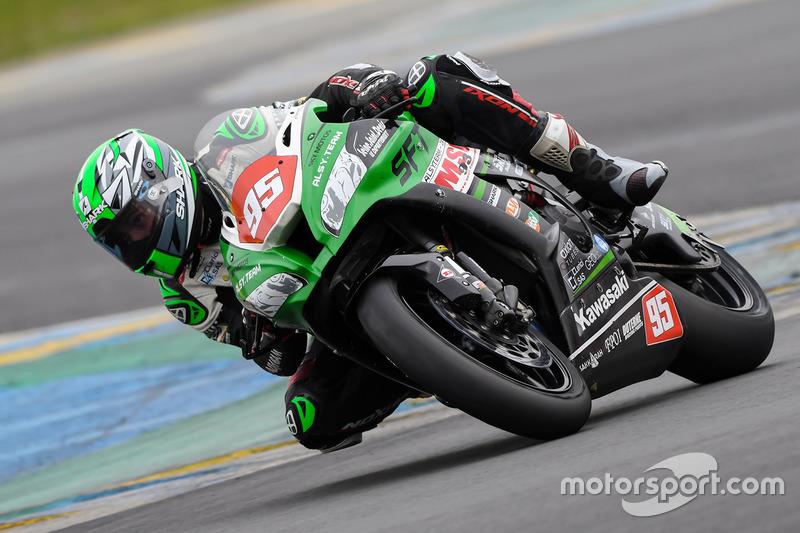 #95 Kawasaki: Alan Agogue