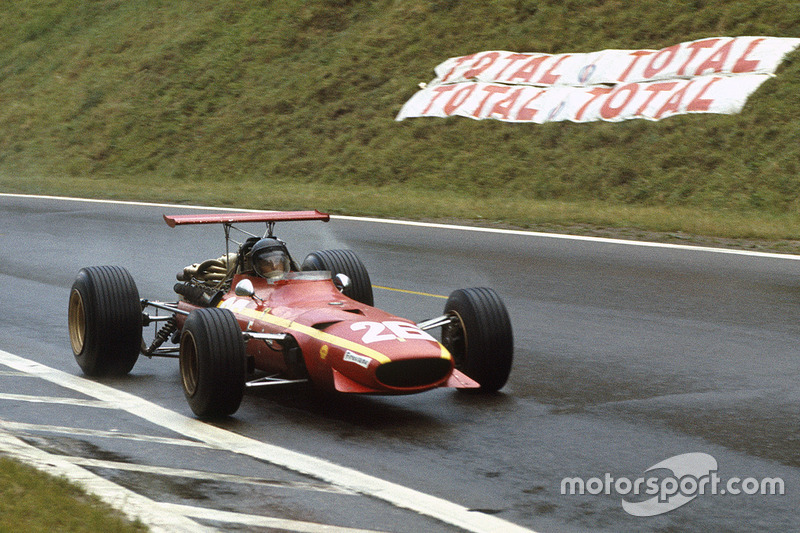 1968-1969: Jacky Ickx, Ferrari 312/68