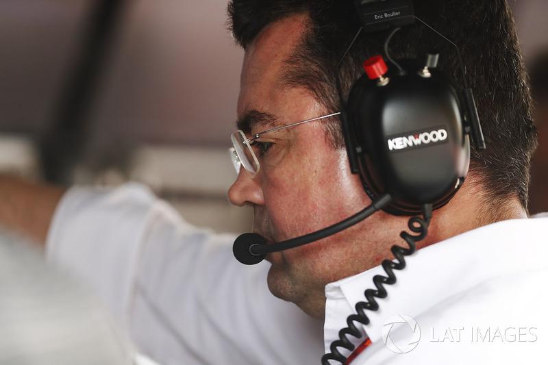 Ерік Бульє, гоночний директор McLaren