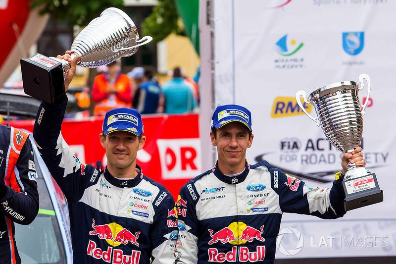 Podium: 3. Sébastien Ogier, Julien Ingrassia, M-Sport