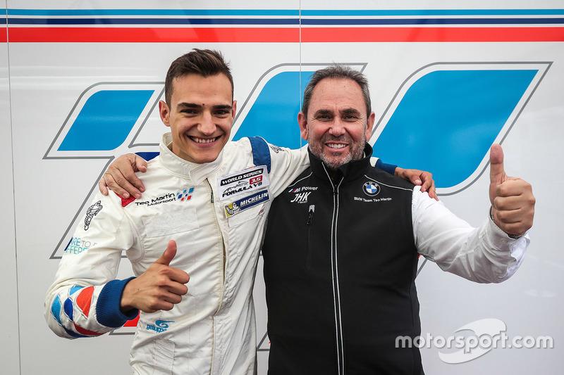 Ganador de la pole Alex Palou, Teo Martin Motorsport