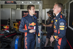 Sebastien Ogier und David Coulthard