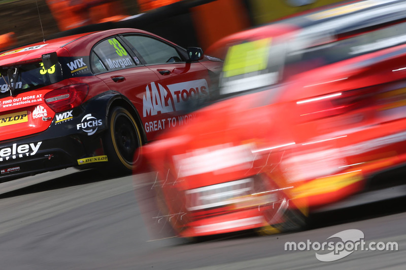 Adam Morgan, Ciceley Motorsport with Mac Tools, Mercedes Benz A-Class