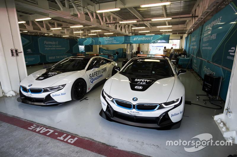 BMW i8 Safety Cars