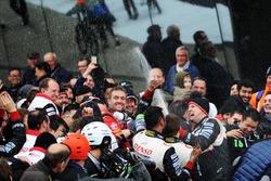 Toyota Gazoo Racing celebrate